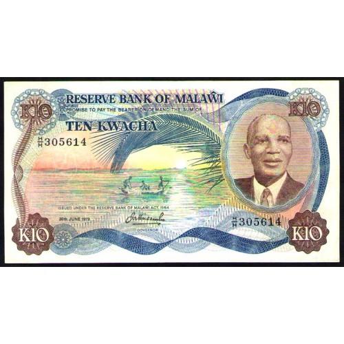 MALAWI 10 Kwacha 1979