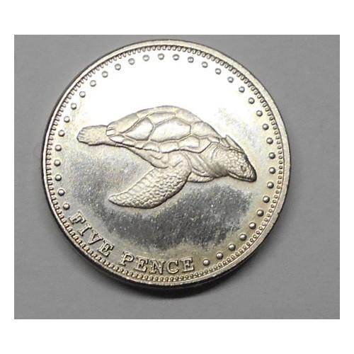 TRISTAN DA CUNHA 5 Pence 2008