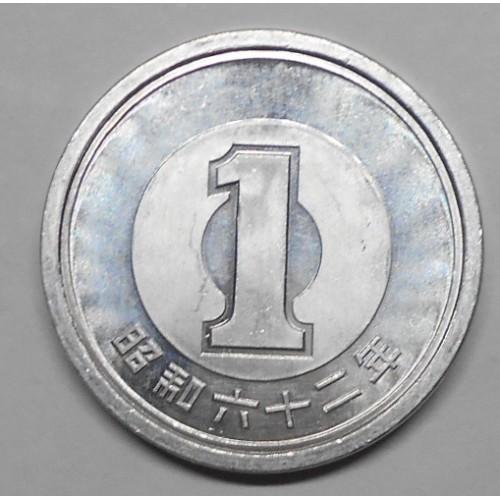JAPAN 1 Yen 1987