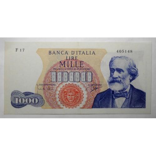 1000 Lire VERDI 1963