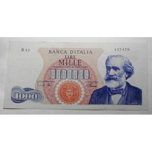 1000 Lire VERDI 1968