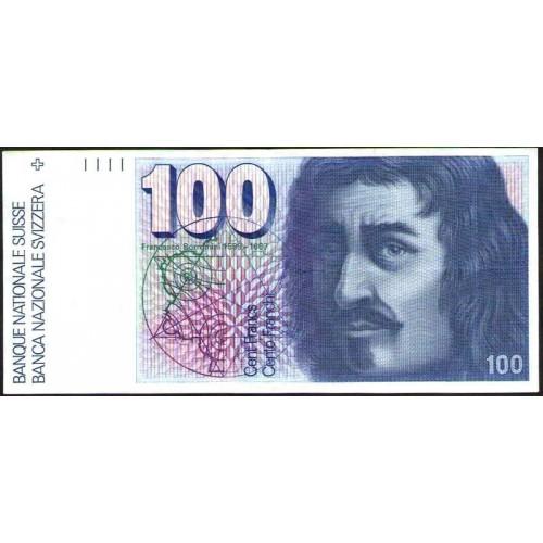 SWITZERLAND 100 Franken 1991