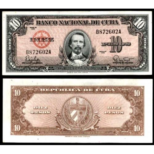 CUBA 10 Pesos 1960