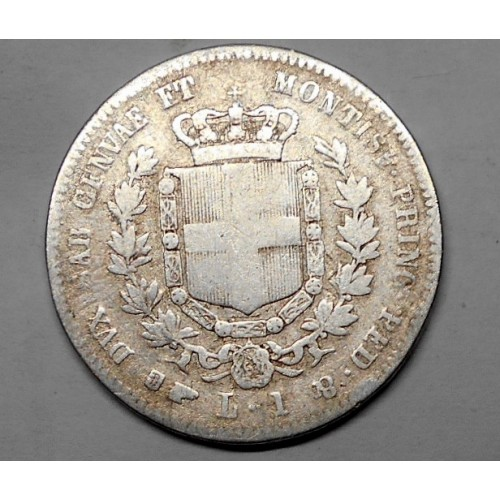 VITTORIO EMANUELE II 1 Lira...
