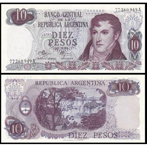 ARGENTINA 10 Pesos 1970