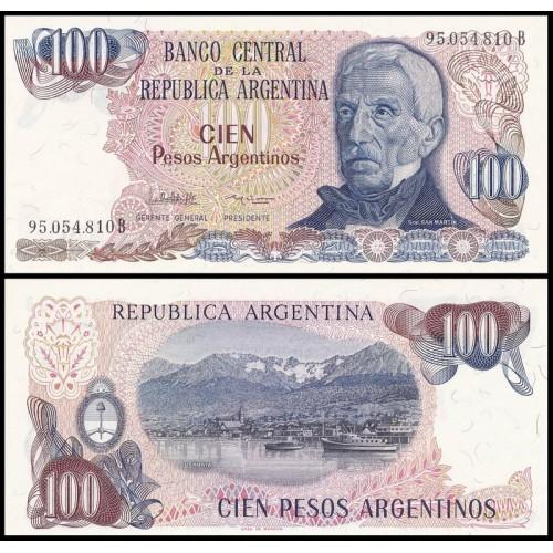ARGENTINA 100 Pesos 1983