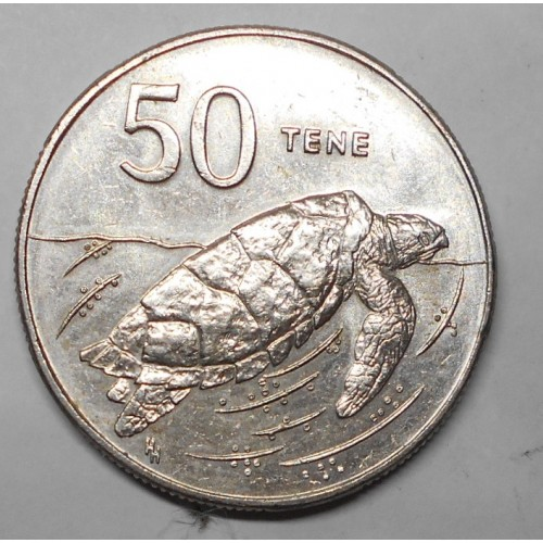 COOK ISLANDS 50 Tene 1988