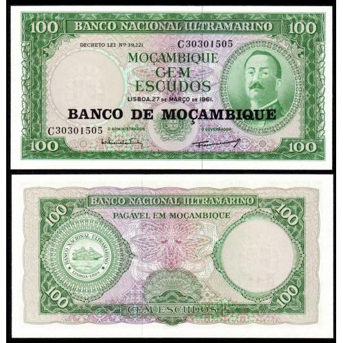 MOZAMBIQUE 100 Escudos 1976