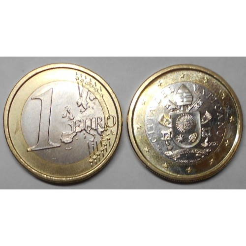 VATICANO 1 Euro 2021