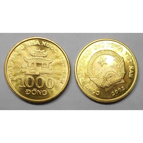 VIET NAM 1000 Dong 2003