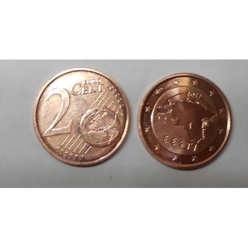ESTONIA 2 Euro Cent 2017
