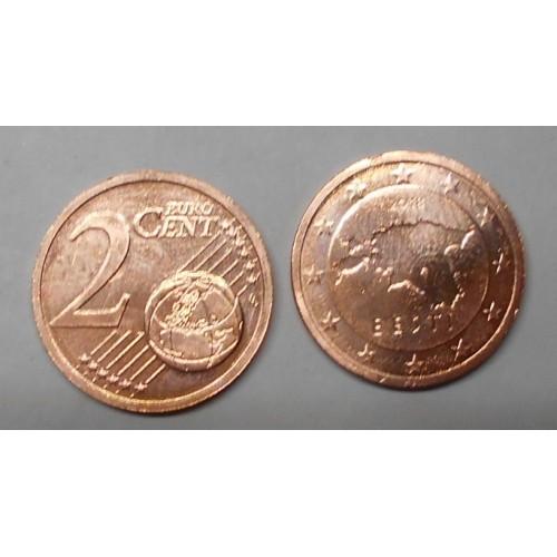 ESTONIA 2 Euro Cent 2018