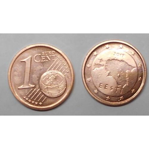 ESTONIA 1 Euro Cent 2017
