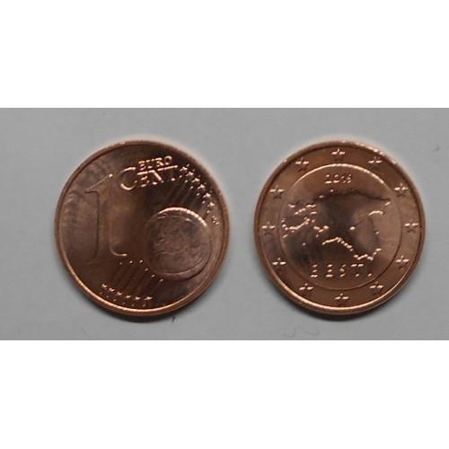 ESTONIA 1 Euro Cent 2019