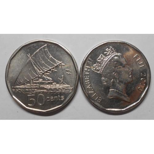 FIJI 50 Cents 2010