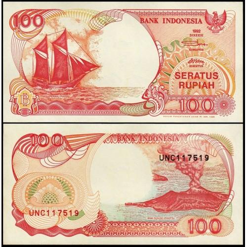 INDONESIA 100 Rupiah 1992/1995