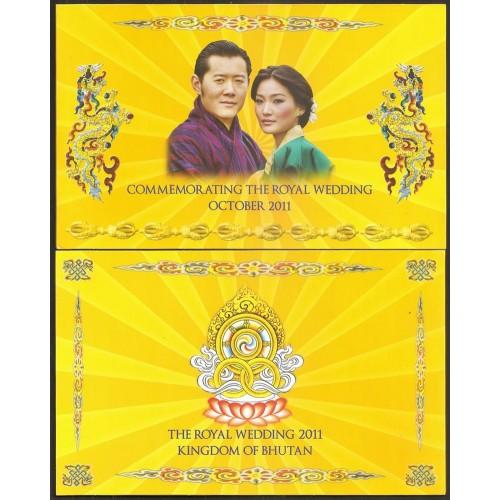 BHUTAN 100 Ngultrum 2011...