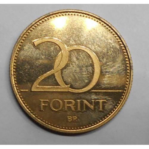 HUNGARY 20 Forint 2003 Proof