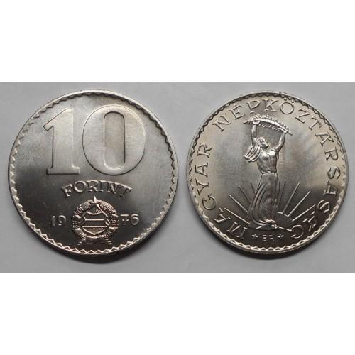 HUNGARY 10 Forint 1976