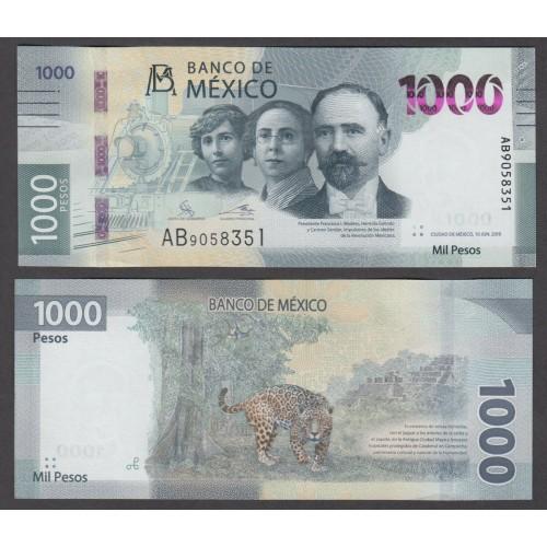 MEXICO 1000 Pesos 2019 (2020)