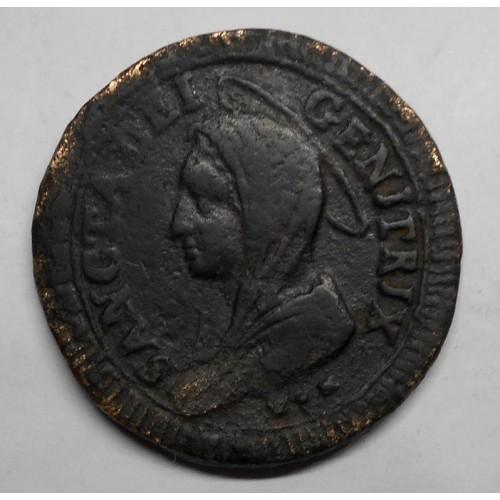 PIO VI 5 Baiocchi 1797 A....