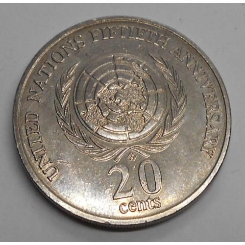 AUSTRALIA 20 Cents 1995...