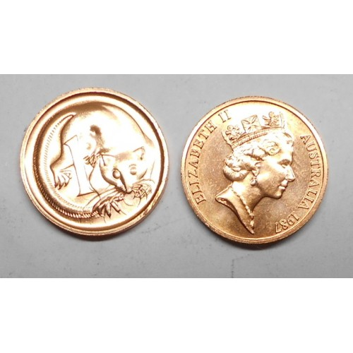 AUSTRALIA 1 Cent 1987