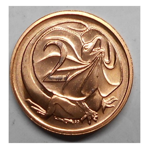 AUSTRALIA 2 Cents 1987