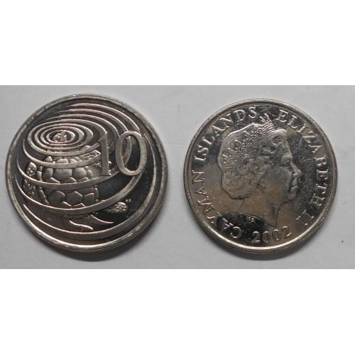 CAYMAN ISLANDS 10 Cents 2002