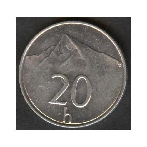 SLOVAKIA 20 Halierov 1994