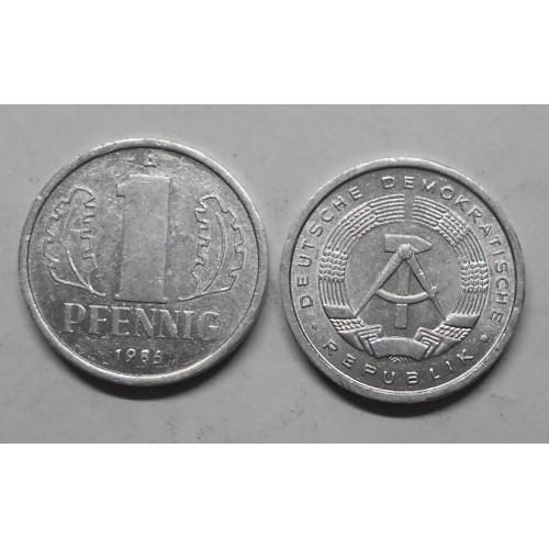 DDR 1 Pfennig 1986