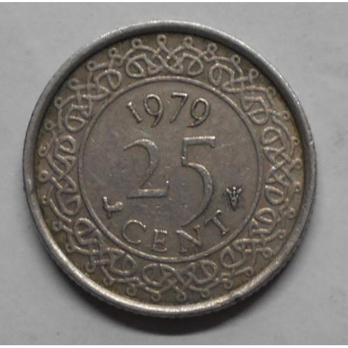 SURINAME 25 Cents 1979