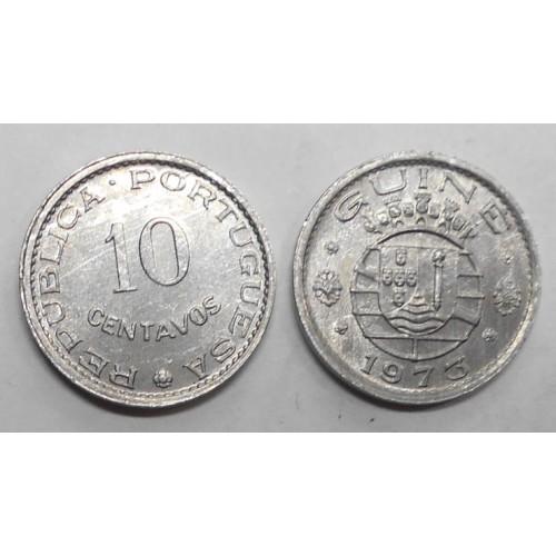 GUINEA BISSAU 10 Centavos 1973