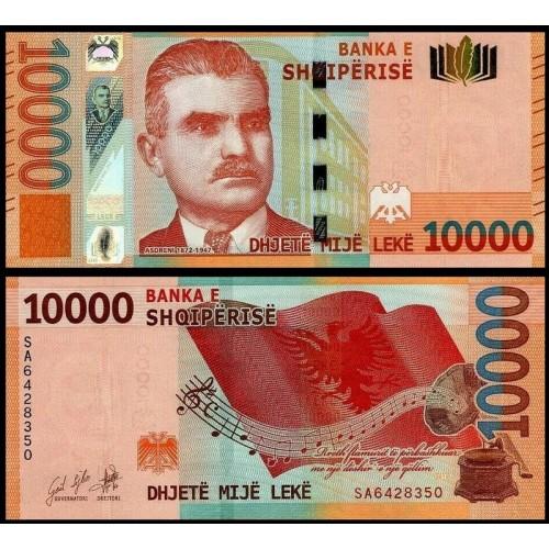 ALBANIA 10.000 Leke 2019...