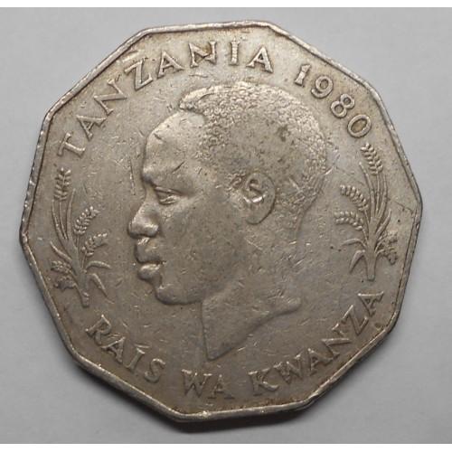 TANZANIA 5 Shilingi 1980 FAO