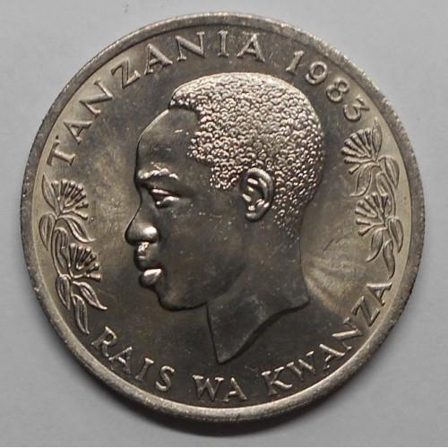 TANZANIA 1 Shilingi 1983...