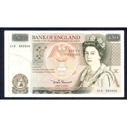 GREAT BRITAIN 50 Pounds 1981