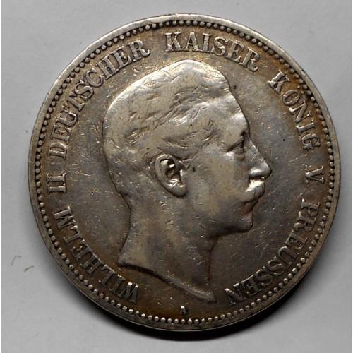 PRUSSIA 5 Mark 1904