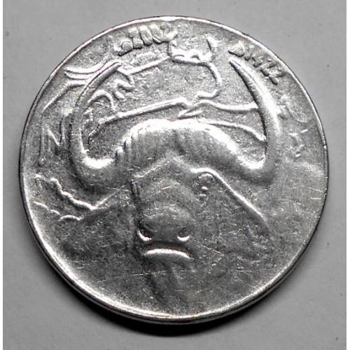 ALGERIA 1 Dinar 2002...