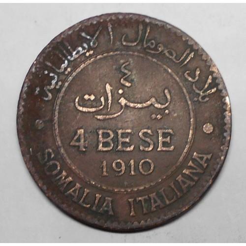 SOMALIA 4 BESE 1910