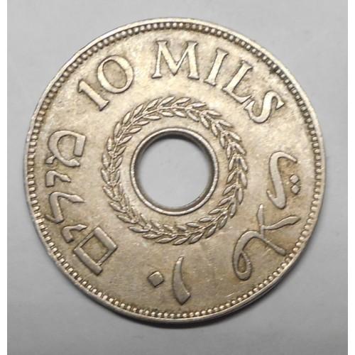 PALESTINE 10 Mils 1937