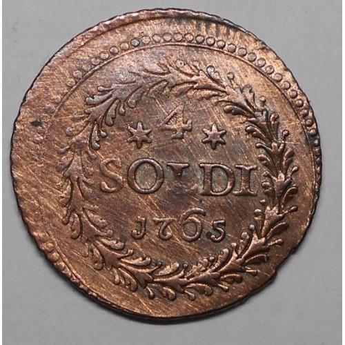 CORSICA 4 Soldi 1765...