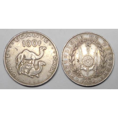 DJIBOUTI 100 Francs 2004