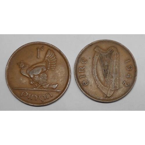IRELAND 1 Penny 1942