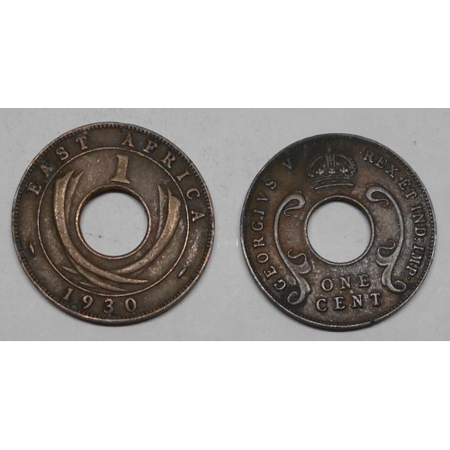 EAST AFRICA 1 Cent 1930