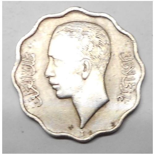 IRAQ 4 Fils 1938 / I Ghazi I
