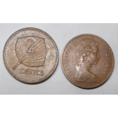 FIJI 2 Cents 1969