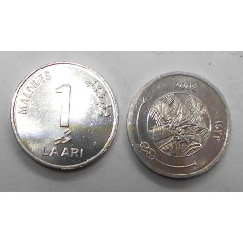 MALDIVE 1 Laari 2002