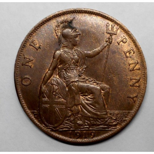 GREAT BRITAIN 1 Penny 1919