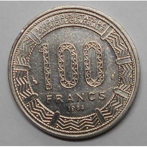 GABON 100 Francs 1984